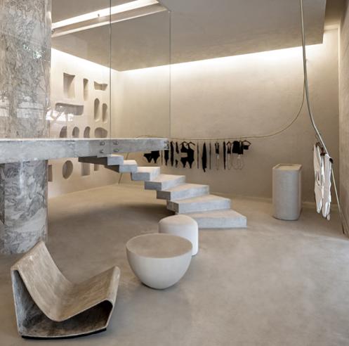 MNMA studio seeks a brutalist approach for this beachwear boutique in Brazil
