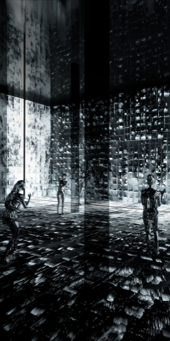 Refik Anadol's Machine Hallucination gives machines a human consciousness