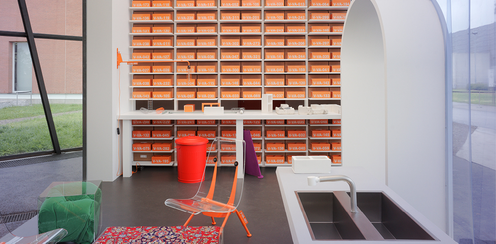 Virgil Abloh imagines homes of the future with his collection for Vitra