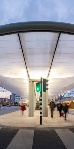 Tilburg's solar-powered bus station shows the way forward for transportation design