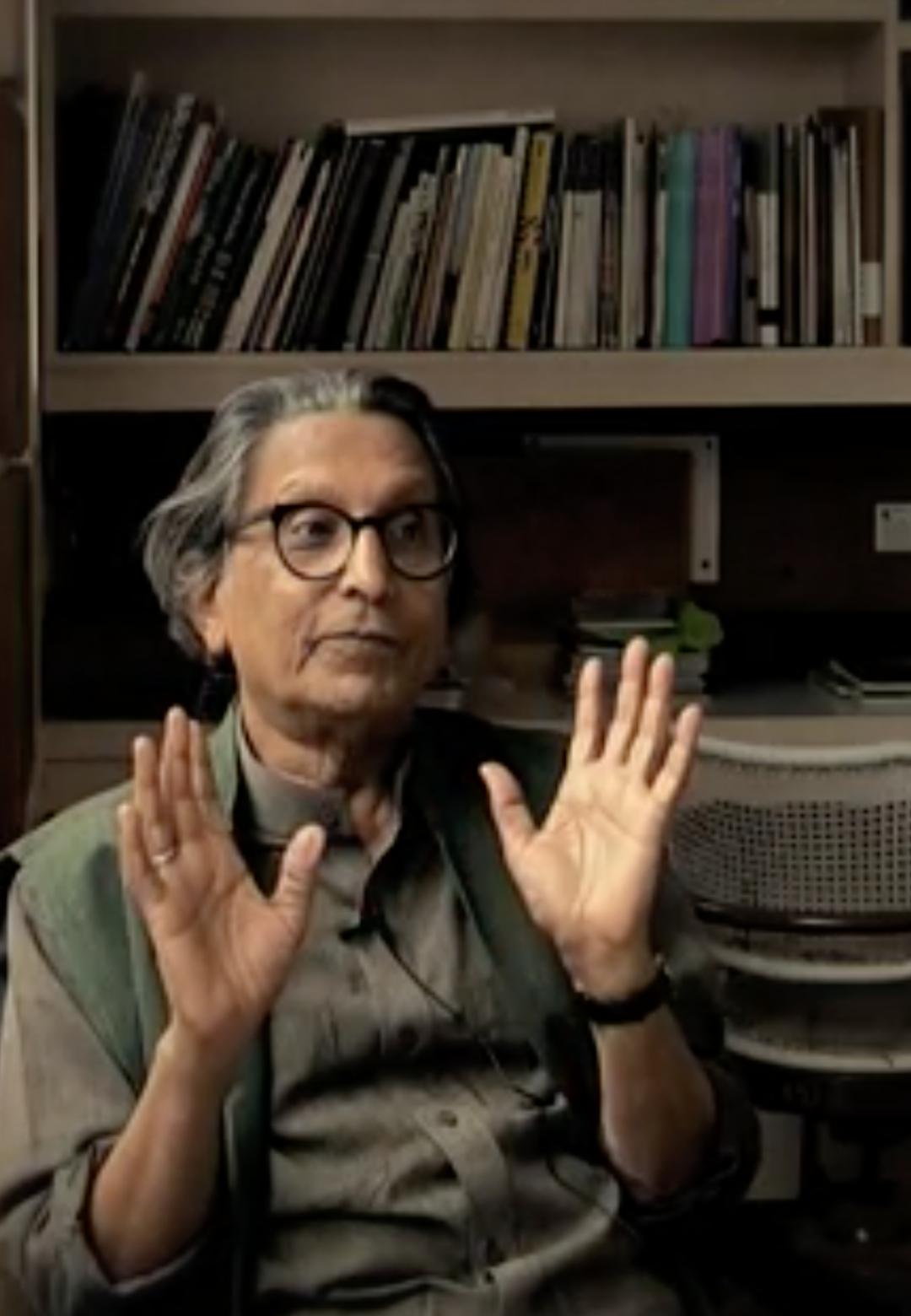 Still from the film 'Doshi: Karma' | BV Doshi | Bijoy Ramachandran| STIR