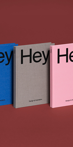 A book I wish I had done: Hey: Design & Illustration