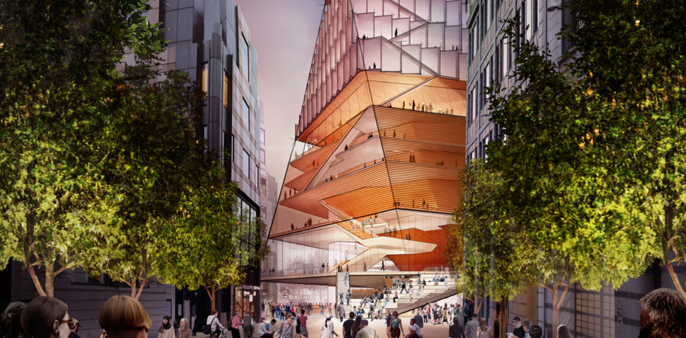 Diller Scofidio + Renfro proposes design for the Centre for Music, London