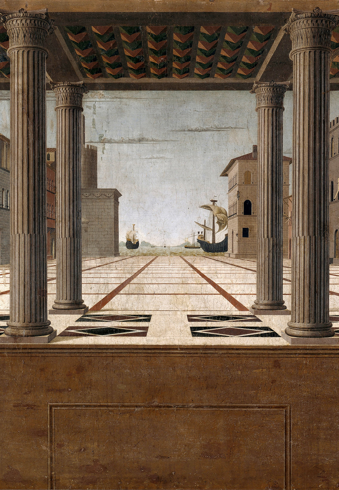 Architectural Veduta by Francesco di Giorgio Martini, 1490  | Human within the Architect | Prem Chandavarkar | STIR