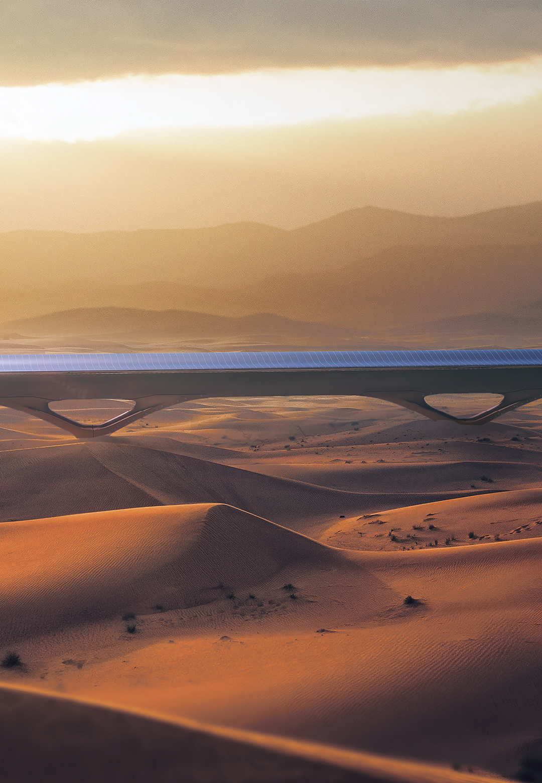 MAD's pylon infrastructure for HyperloopTT | HyperloopTT | MAD | STIR
