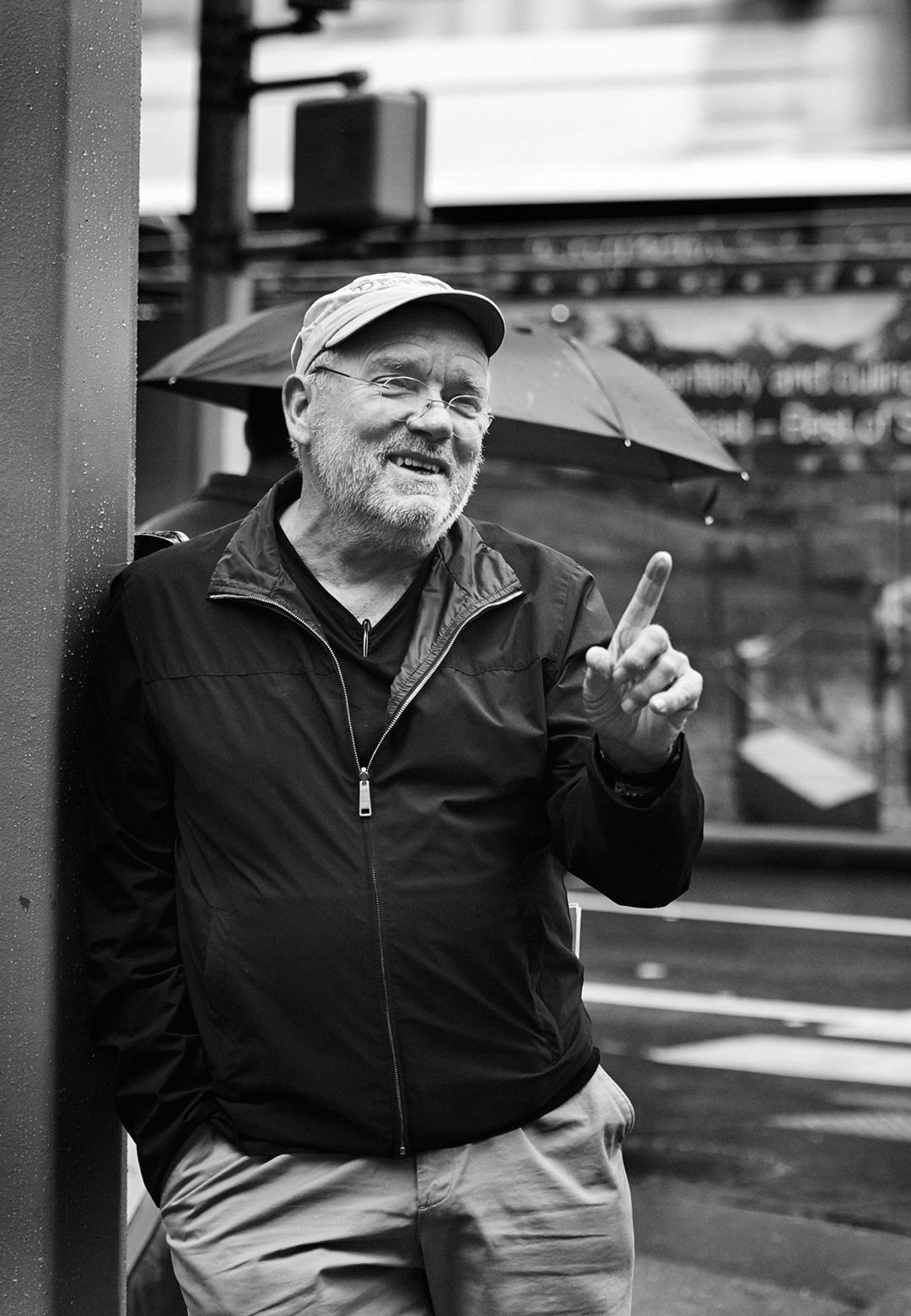 Portrait of German Photographer Peter Lindbergh (New York, 2016) | Peter Lindbergh | Samar Jodha | STIR