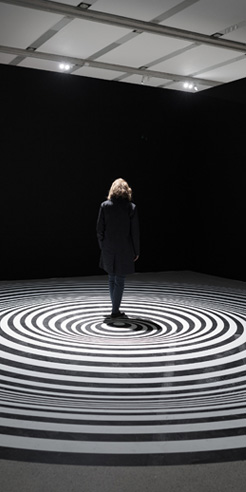 Mumok Vienna invites visitors to experience the confusing world of illusion