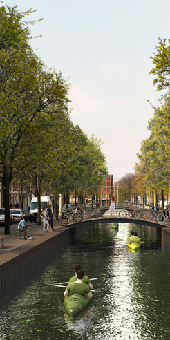 MVRDV proposes to revive The Hague's lost Canals