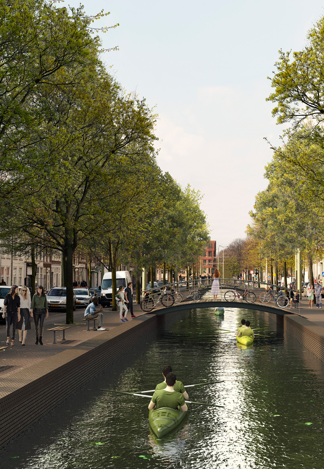 Prinsegracht- Existing and Proposed | MVRDV| Hague Canals| STIR