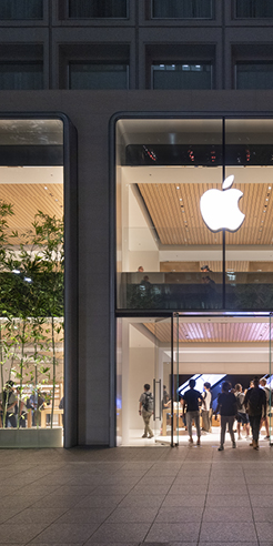 Designed by Foster + Partners, Apple opens its most expansive store in Japan