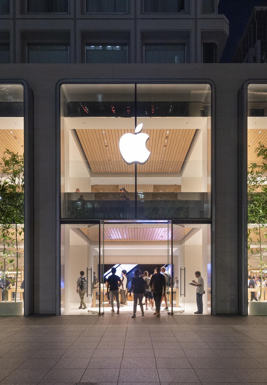 Apple Marunouchi in Tokyo, Japan designed by Foster + Partners | Apple Marunouchi | Foster + Partners | STIR