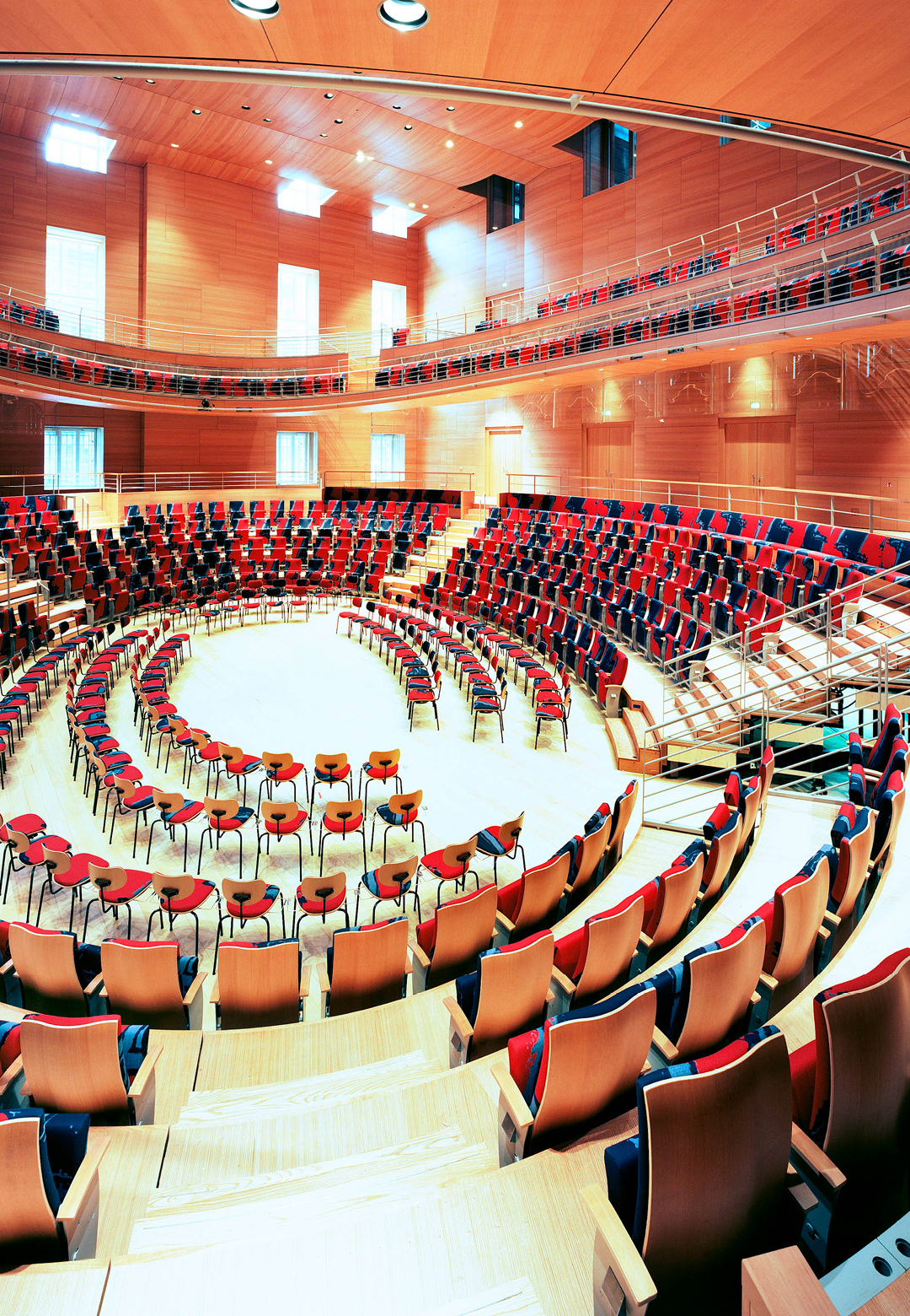 Berlin's Pierre Boulez Saal concert hall, designed by renowned architect Frank Gehry   The Gold Projections   Joe Ramirez   STIRworld