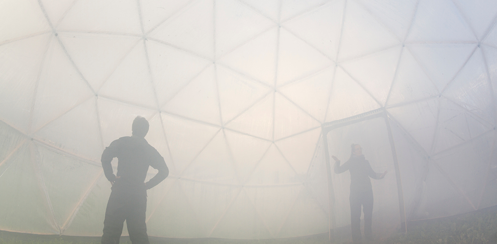 Michael Pinsky's Pollution Pods at the UN stirred dialogue on climate change