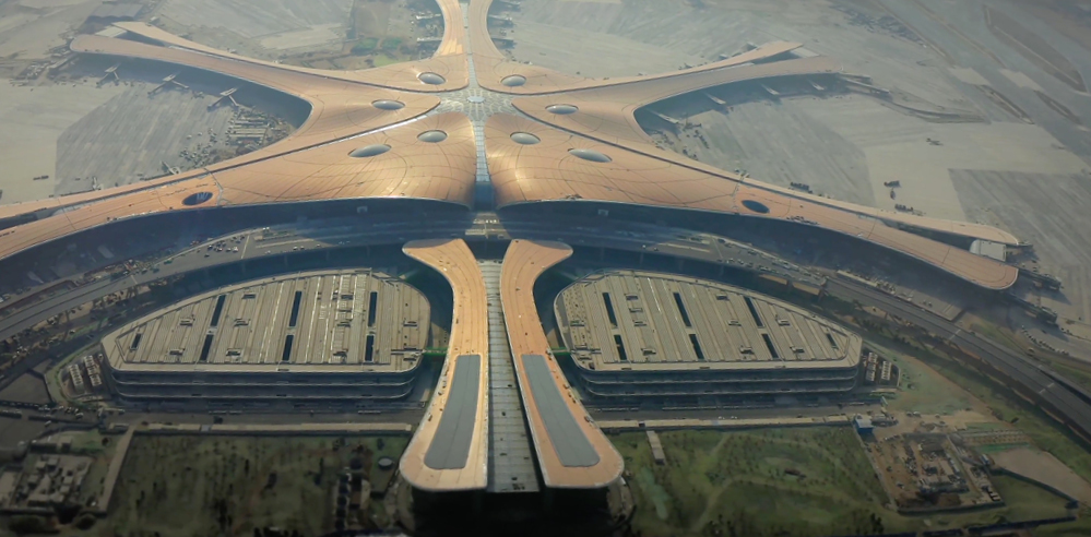 Beijing Daxing International Airport by Zaha Hadid Architects (ZHA) opens in China