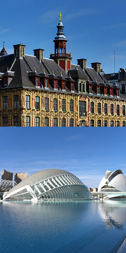 Lille Metropole and Valencia are World Design Capitals for 2020, 2022 respectively