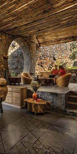 Kondan Resort by PMA madhushala sits like a historic citadel amid rolling hills in Pune
