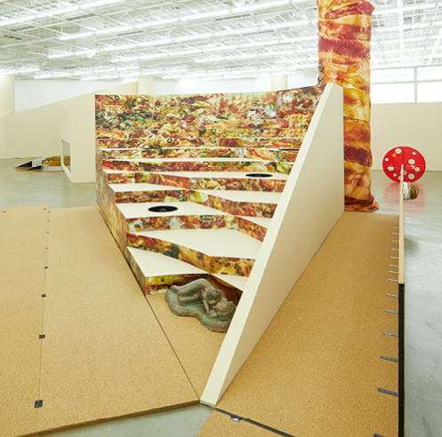 The pizza-shaped Art Sonje Center gets a <em>Delivery</em> from artist Donghee Koo