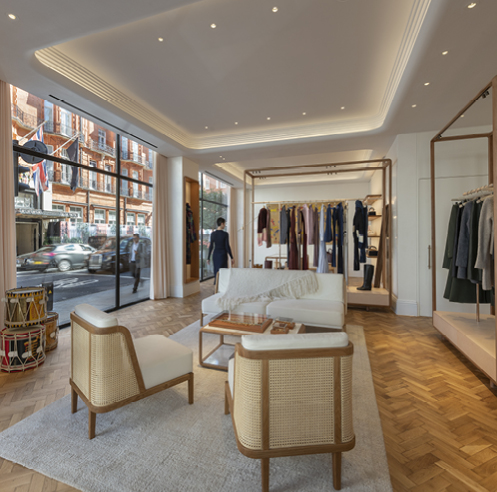 Gabriela Hearst opens her first London store, designed by Foster + Partners