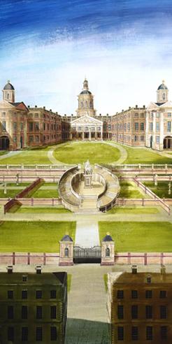 Ed Kluz recreates the lost splendour of London's historic facades