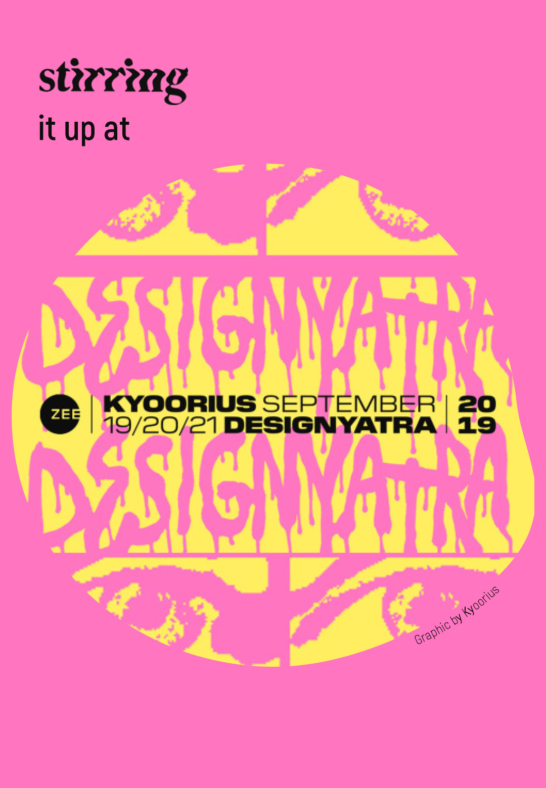 Conversations on the Contrary | Kyoorius Designyatra 2019 | STIRworld