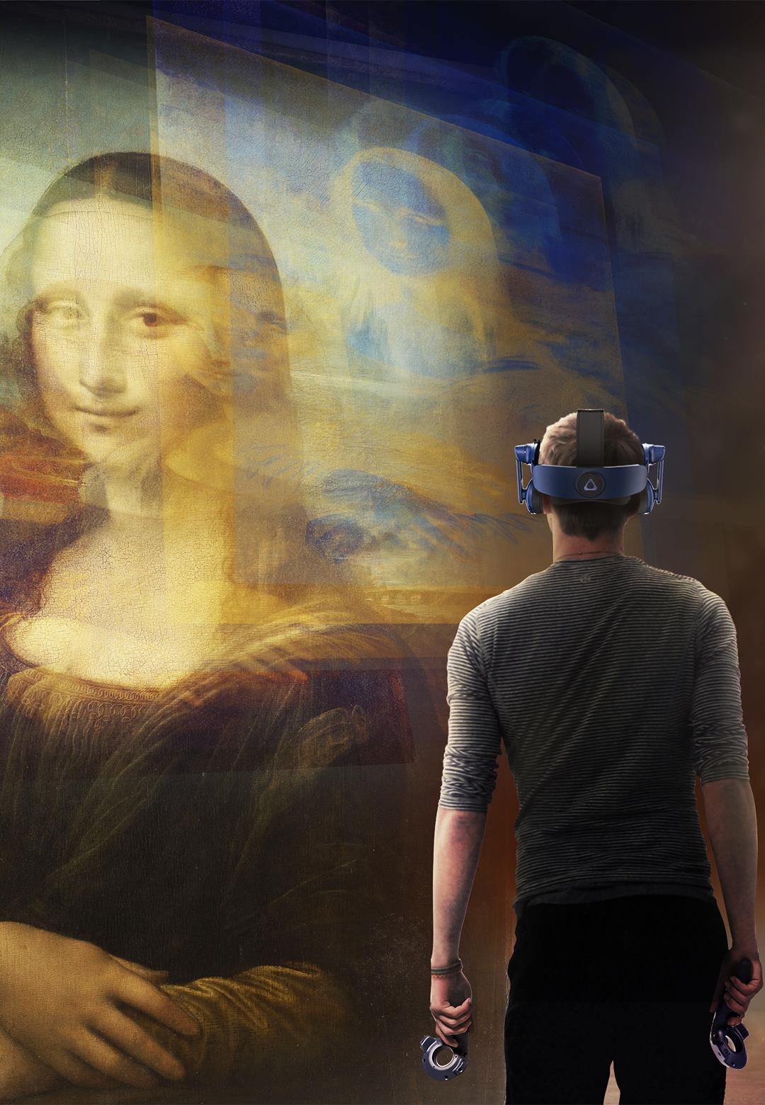 A still from Mona Lisa: Beyond the Glass | Leonardo da Vinci | Musée du Louvre | STIRworld