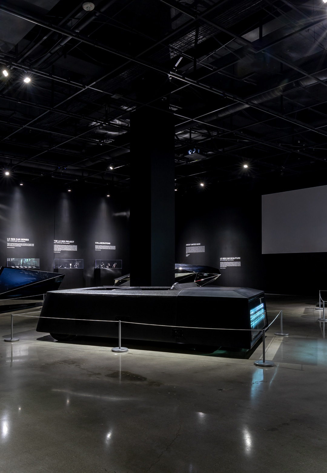 The Disruptors exhibition, on display at the Petersen Automotive Museum | Disruptors| Rem D Koolhaas and Joey Ruiter | Petersen Automotive Museum | STIRworld