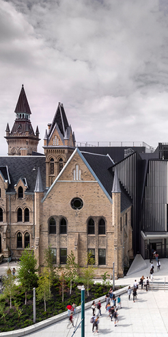 University of Toronto's Daniels Building creates a dialogue between old and new