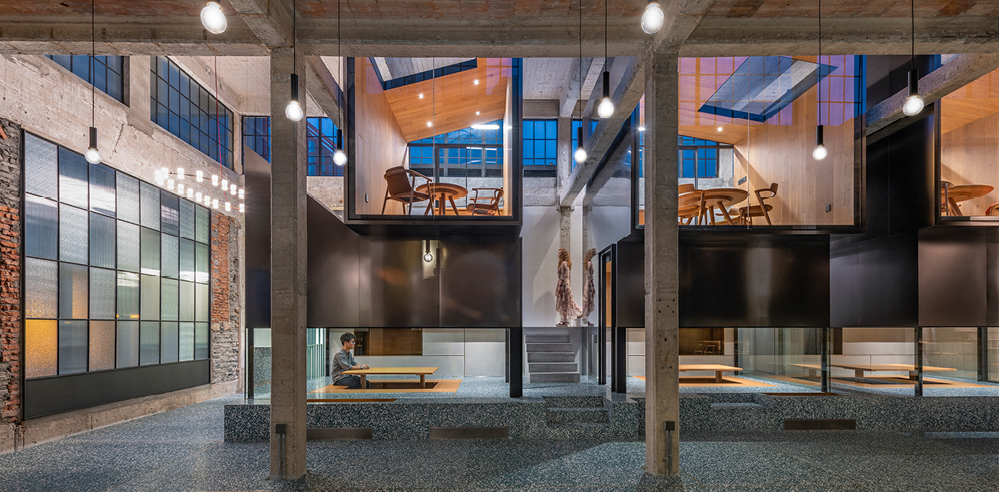 Linehouse turns an old warehouse in Shanghai into a haven for tea drinkers