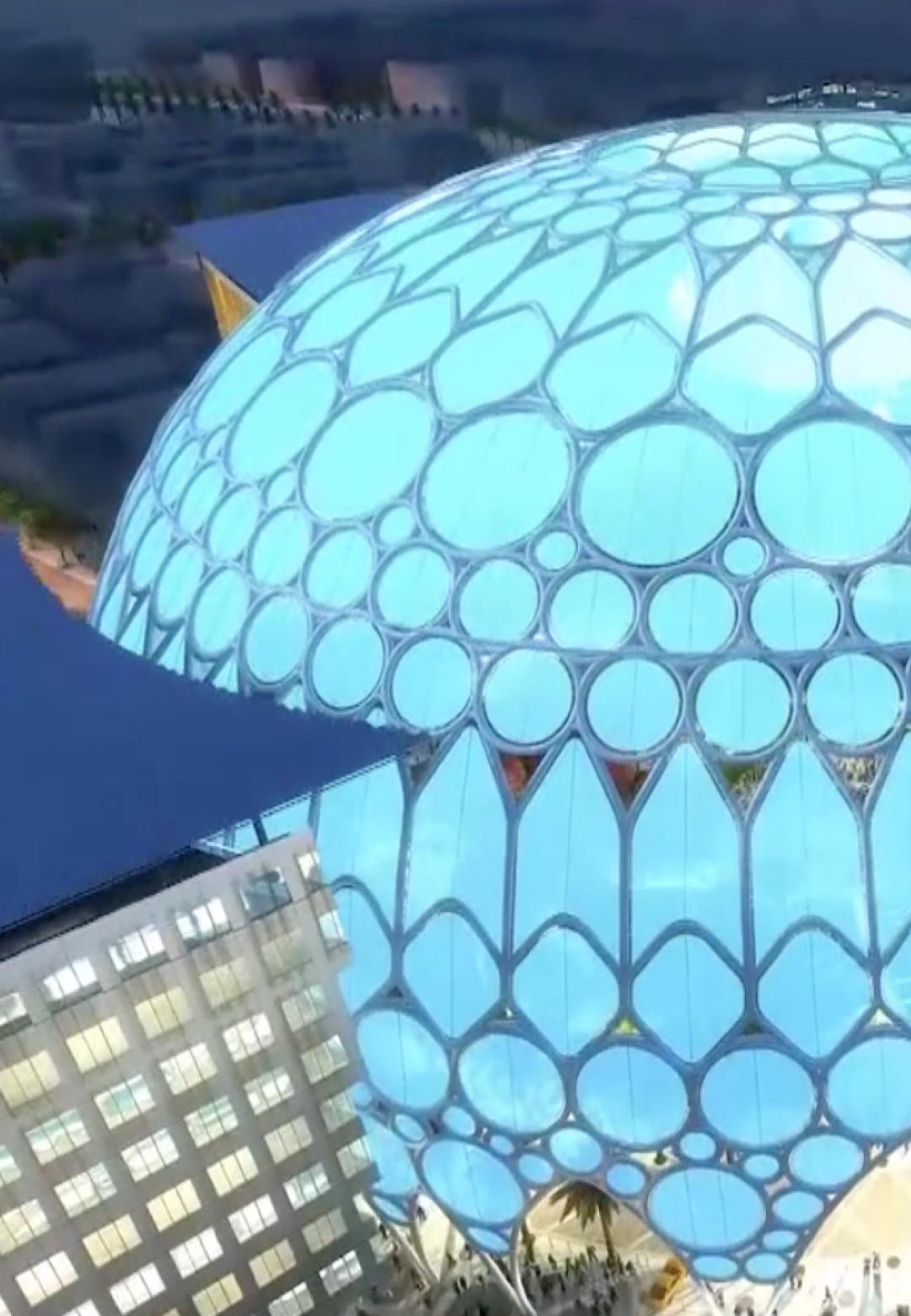 Construction of the Al Wasl Dome – An Engineering Feat | Al Wasl Dome|Expo 2020| Dubai| STIRworld