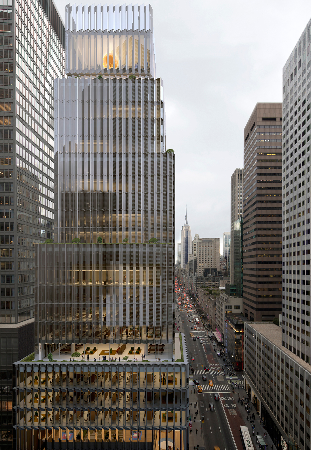 David Chipperfield Architects's design to build Rolex USA headquarters in New York| Rolex headquarters | David Chipperfield Architects | STIRworld