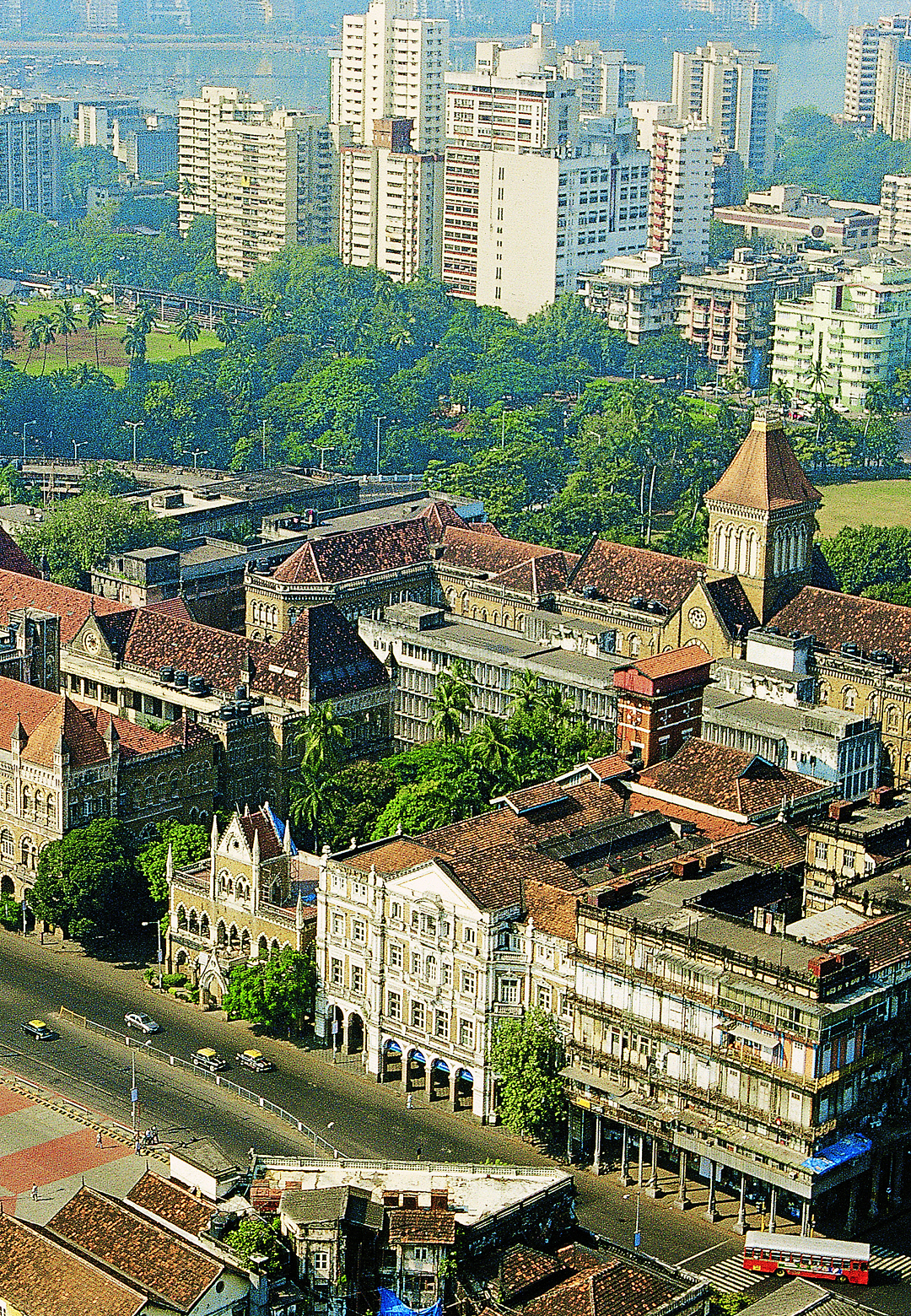 An aerial view of the Kala Ghoda Streetscape  | UNESCO Asia-Pacific Awards for Cultural Heritage Conservation | STIRworld
