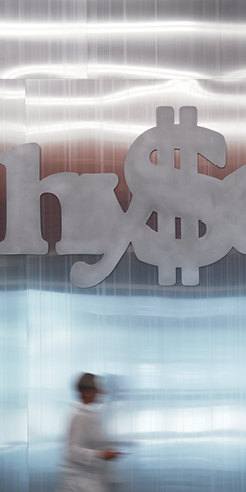 Artist Monica Bonvicini's Hy$teria engulfs Belvedere 21 in Vienna