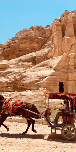 Petra: A journey to the ancient 'Rose City' carved out of rock