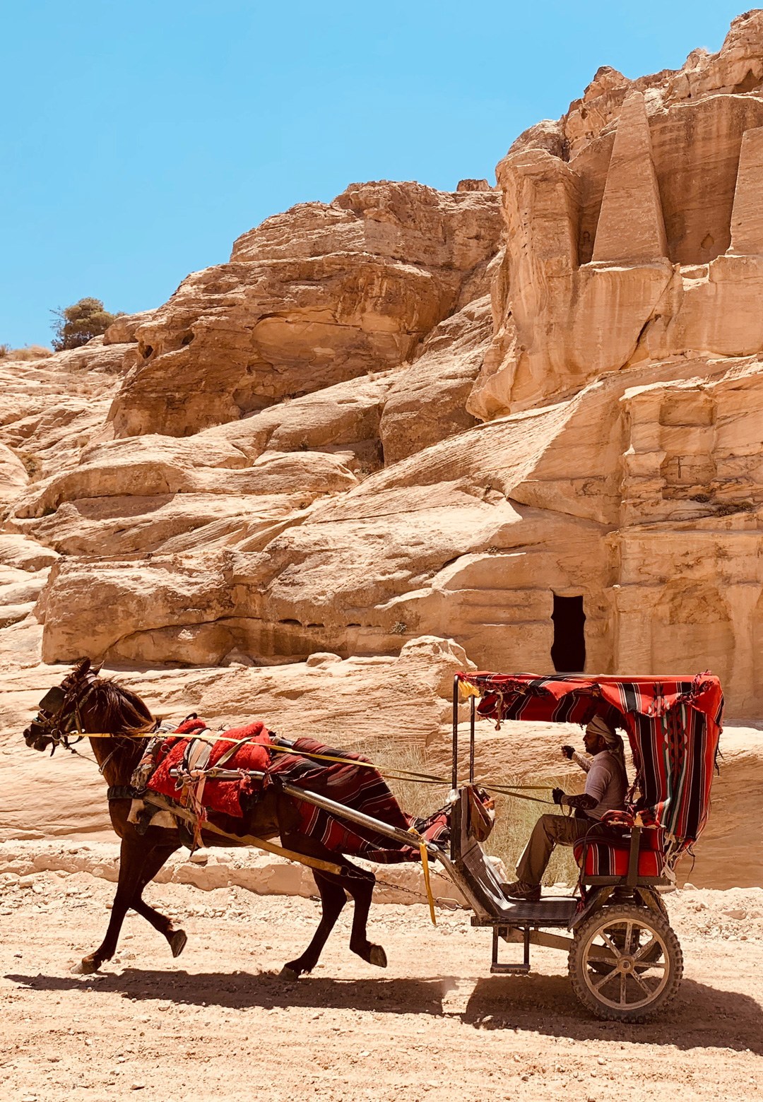 Petra is a famous archaeological site in Jordan's southwestern desert | Petra, Jordan | Sandeep and Tania Khosla| STIRworld