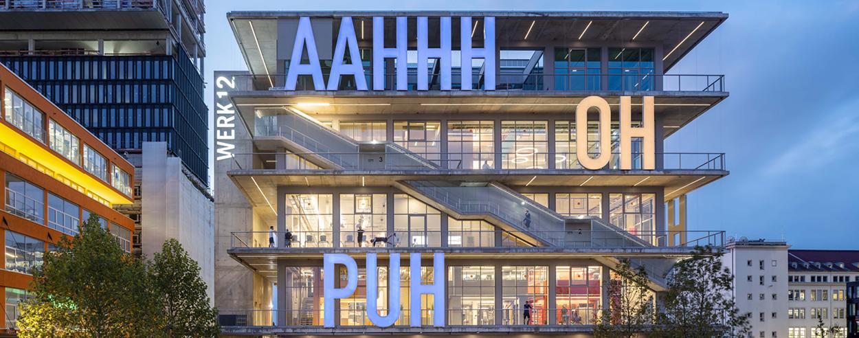 WERK12 by MVRDV 'wows' Munich with expressive artsy elevations