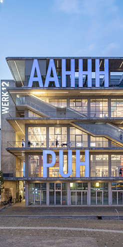 WERK12 by MVRDV 'wows' Munich with expressive artsy elevations