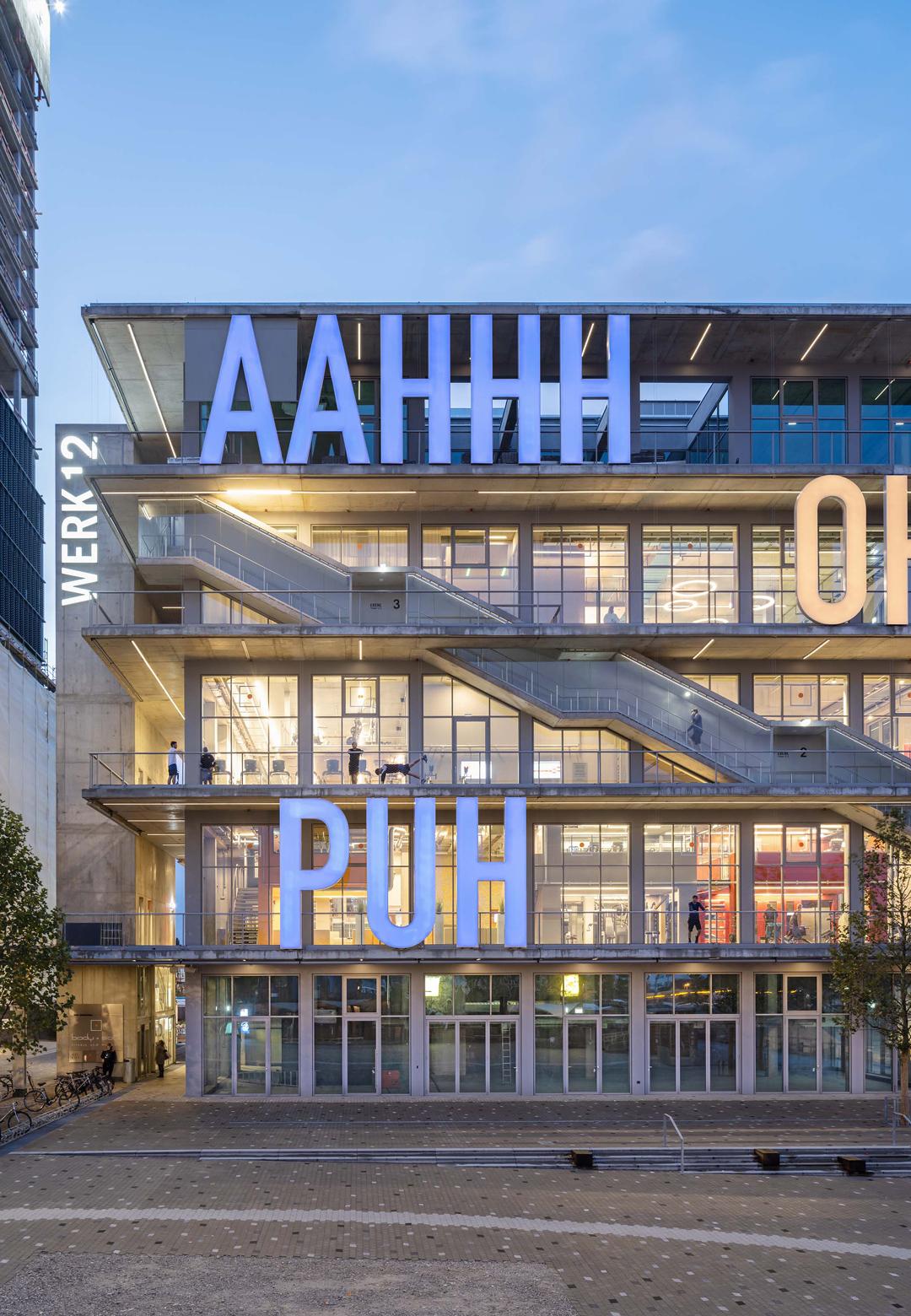 WERK12, a multi-use building by MVRDV, in Munich | WERK12 | MVRDV | STIRworld