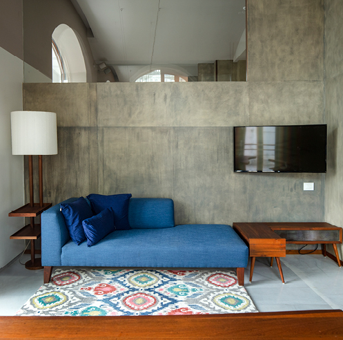 Samira Rathod designs a warm, homely workspace in Mumbai