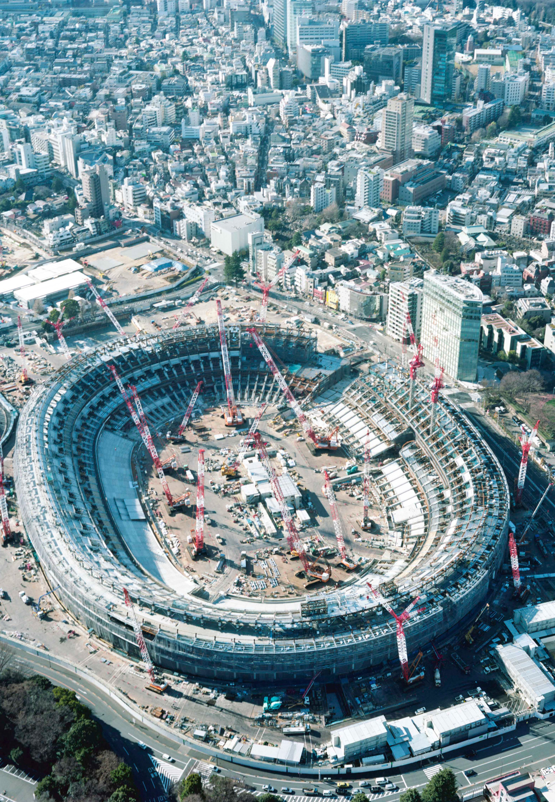 Tokyo Olympics Opening Ceremony at National Stadium (1964); New National Stadium (2017)   Made in Tokyo   STIRworld
