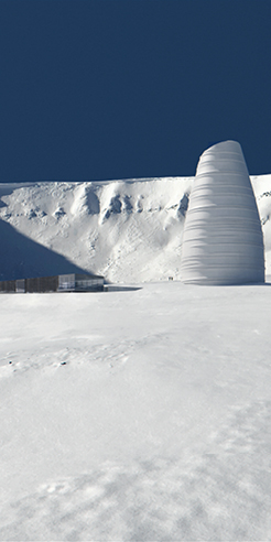 Snøhetta designs The Arc, a visitor centre for Arctic preservation storage in Norway