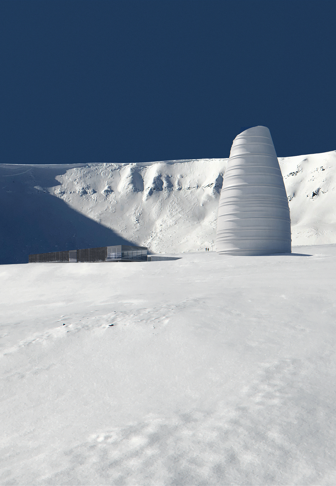The Arc by Snøhetta is a visitor centre for Arctic preservation storage in Longyearbyen, Svalbard | The Arc | Snøhetta | STIRworld