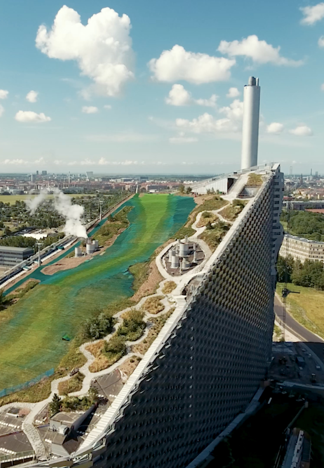 CopenHill project for the Amager Resource Centre (ARC) by Bjarke Ingles Group in Copenhagen   | Copenhill | Denmark | BIG | Bjarke Ingles Group | STIRworld