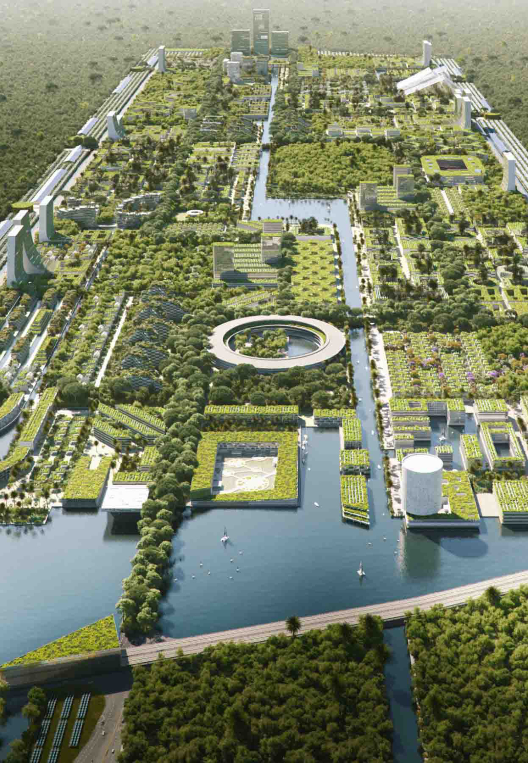 Proposed design for the Smart Forest City | Smart Forest City | Stefano Boeri Architetti | STIRworld