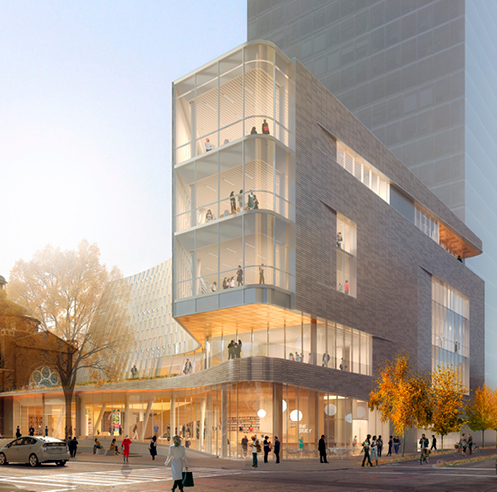 Snøhetta unveils design for Mecklenburg's Main Library in Charlotte