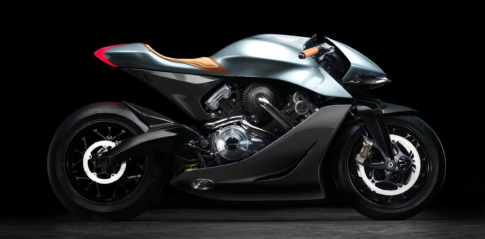 Aston Martin ventures into motorbike design with AMB 001