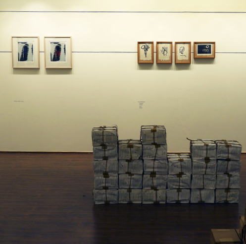 Ashok Ahuja's exhibition <em>Navajivan Nagar</em> explored the idea of text and architecture