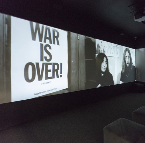 Fondation Phi in Montreal exhibits Liberté Conquérante, the art of Yoko Ono