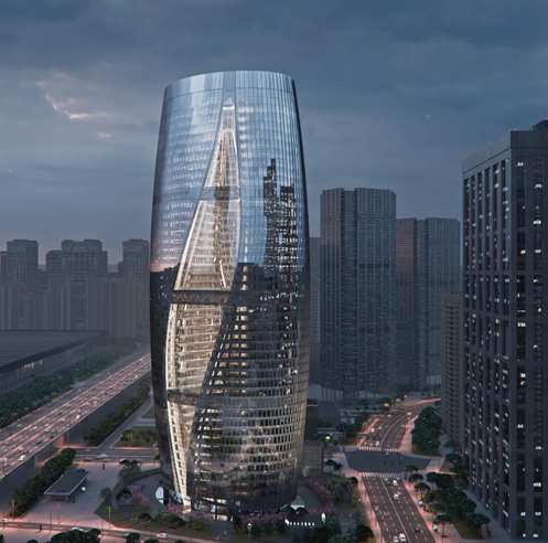 Zaha Hadid Architects' Leeza Soho with the world's tallest atrium, opens in Beijing