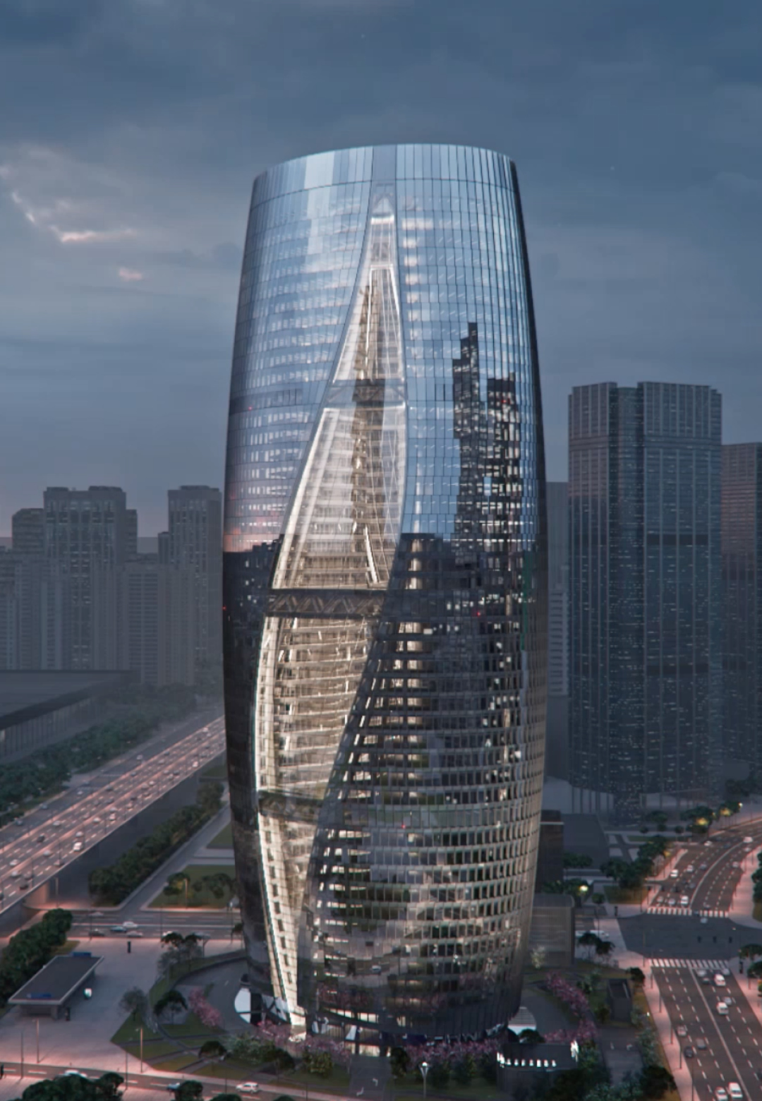 A flythrough of Leeza SOHO tower in Beijing, designed by Zaha Hadid Architects | Leeza SOHO Tower | Zaha Hadid Architects | STIRworld
