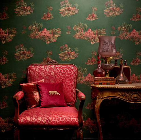 Sabyasachi Mukherjee and Asian Paints create old-world charm in collaboration